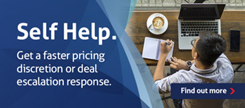 Get help faster by submitting a pricing discretion or deal calculation online.