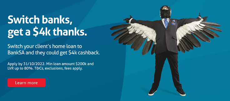 $4k cashback when your client refinances their loan