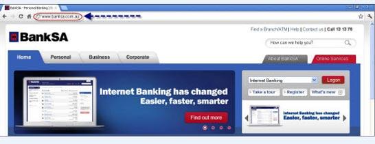 Secure your PC, security centre | BankSA