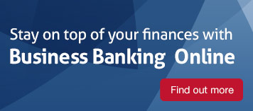 Stay on top of your finances with Business Banking Online
