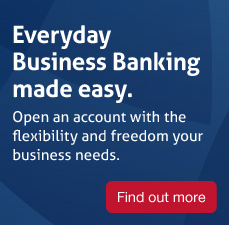 Essential everyday transaction bank account with the flexibility and freedom your business needs. Ideal for starting a new business. Find out more.