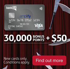 thirty thousand bonus points, plus fifty dollars. Find out more.