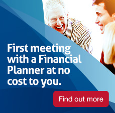 First meeting with a financial planner at no cost to you. Find out more.