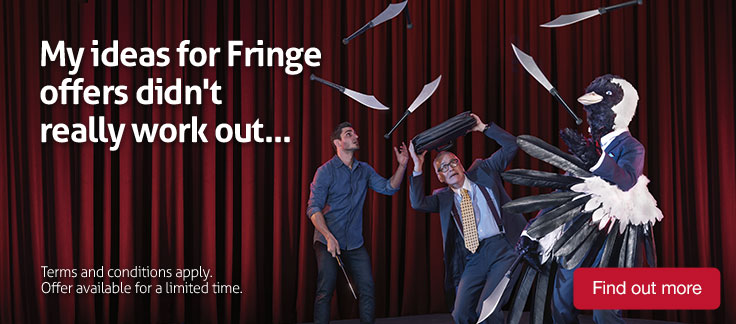 My ideas for Fringe offers didn't really work out. Find out more.