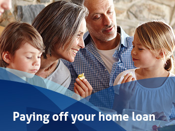 Paying off your home loan