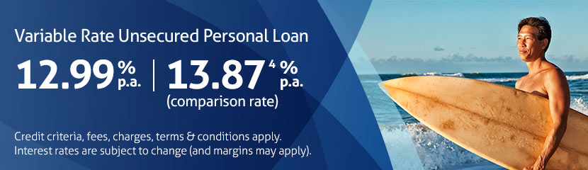 Unsecured personal loan | BankSA